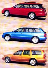 1998 Audi A4 Avant Volvo V70R Wagon Car Review Report Print Article J980