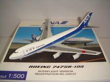"""Hogan 500 All Nippon Airways ANA B747SR-100 """"1990s color"""" NG 1:500"""