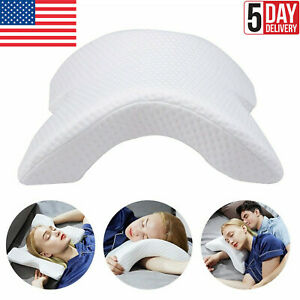 Memory Foam Pillow Detachable Slow Rebound Tunnel Shaped Sleep Arm Cuddling USA