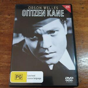 Citizen Kane DVD Orson Welles R4 LIKE NEW FREE POST