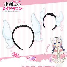 Miss Kobayashi's Dragon Maid Kanna Kamui san Chi no Tohru ears hair clasp bands