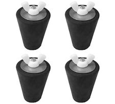 4- Swimming Pool Winter  Plugs for Return / Skimmer Fits #7-#8-#9-#10  MULTI-USE
