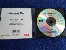 Vanessa Mai Ohne Dich 1-track acetate promo cd Dieter Bohlen von Modern Talking