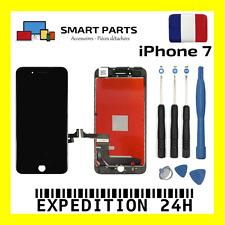 ECRAN LCD + VITRE TACTILE SUR CHASSIS POUR IPHONE 7 NOIR + KIT OUTILS