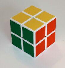 Brain Teaser Magic Cube Puzzle 2x2, White