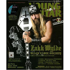Young Guitar Feb/2010 Zakk Wylde Joe Perry Aerosmith Slash Opeth Loudness Akira