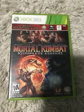 Xbox 360 Mortal Combat Komplete Edition Video Game Super Clean Disc Tested