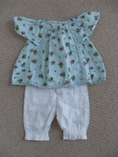 NEXT baby 100% cotton top & trousers - Age upto 3 months (6kg/14lbs) - worn once