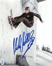Mike V Vallely Signed Skateboarding 8x10 Photo EXACT Proof ACOA C Bones Brigade