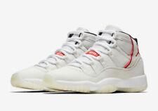 Nike Air Jordan Retro 11 Платиновый оттенок размер 4Y-11 Парус университет красный 378037-016