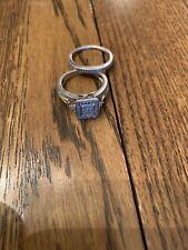 Set Size 7 Sterling Silver Wedding