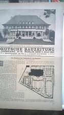 1920 36 Hannover Haus des Stadtdirektors Hindenburgstr.