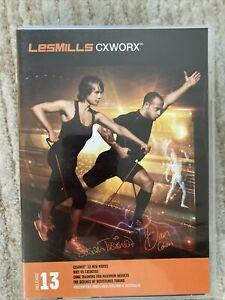 Les Mills CXWORX 13 DVD, CD, & NOTES!