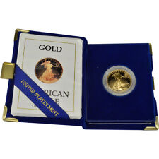 1990-P American Gold Eagle Proof 1/2 oz $25 in OGP