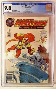 Fury of Firestorm #61 Superman Test Logo Variant 🔥 CGC 9.8 Pop 33 Newsstand