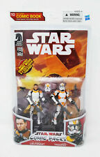 Clone Trooper Lieutenant & Clone Trooper Comic Pack Star Wars 2010 Routine Valor