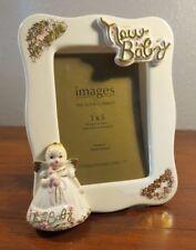Applause Good Company Josef Original New Baby Ceramic Angel Picture Frame