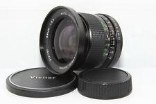 PENTAX K VIVITAR 28mm 2.5 Obiettivo Grandangolo Reflex PK K1000 KM KX LX ME MX