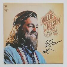 WILLIE NELSON & Sister BOBBIE signed autograph LP