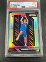 LUKA DONCIC 2018 PANINI PRIZM #280 SILVER REFRACTOR ROOKIE CARD RC MINT PSA 9