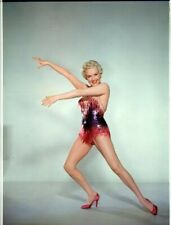 Betty Grable Breathtaking Leggy Pin Up 1955 Showgirl Original 8x10 Transparency