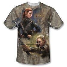 Popfunk The Hobbit Tauriel and Legolas Elves Dye Sublimation T-Shirt