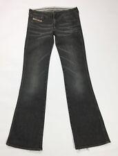 Diesel jeans stripp donna usato bootcut zampa W27 L34 tg 41 vintage T3471
