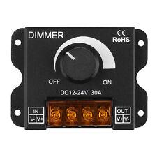 SUPERNIGHT® Dimmer Knob ON/OFF Switch PWM 0%-100% for DC 12V-24V LED Strip Light