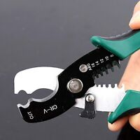 Wire Cutter Stripper Cable Cutting Scissors Stripping Pliers Cut 1.6-4mm Tools