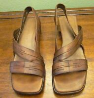 """Women's COLE HAAN """"Country"""" Sling Back Leather Sandals-Size 7.5B"""