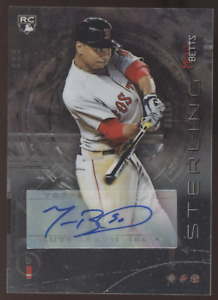 2014 Bowman Sterling Mookie Betts RC Rookie Auto Autograph