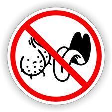 NO BAG LICKERS Funny Hard Hat Sticker  Motorcycle Welding Helmet Decal  Label