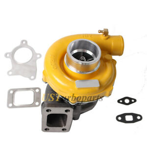 """UNIVERSAL T3/T4 TO4E TURBO CHARGER .63 A/R 60 TRIM COMPRESSOR 3"""" INLET CAMERO"""