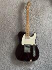 Fender Standard Telecaster 2010 MIM Midnight Wine Maple Neck Guitar + Gig Bag for sale