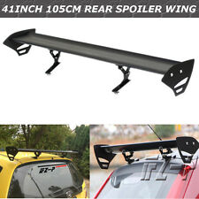 110CM Universal Adjustable Car Aluminum Light Weight GT Rear Racing Spoiler Wing