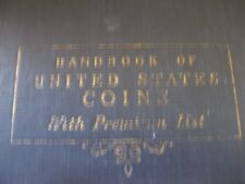 Handbook  of United States Coins Fourth Edition ( NO Date) Black Cover