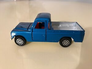 DINKY TOYS # 344 LAND ROVER 109 WB BLUE TRUCK GREAT ORIGINAL CONDITION