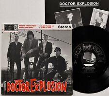 "Doctor Explosion - Bye Bye Sweet Cream EP 7"" 1990 1st Spanish Press Inner NM/NM"