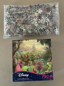 Sleeping Beauty Princess Aurora Disney Thomas Kinkade Ceaco Puzzle 750 Pcs ~ NIB