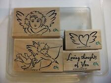 Stampin Up ~ Wings of Love ~ Rubber Stamp Set
