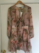 Sheike size 10 Pink Lychee Floral dress. Brand new with tags.