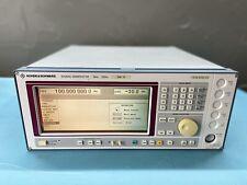 Rohde Amp Schwarz Sme03 Signal Generator 5 Khz 3 Ghz Option B19 Calibrated