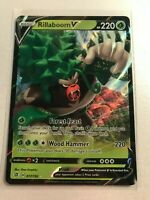 Pokemon - Rillaboom V - 017/192 - SWSH Rebel Clash - Half Art