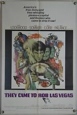 THEY CAME TO ROB LAS VEGAS FF ORIG 1SH MOVIE POSTER ELKE SOMMER LEE J. COBB 1968