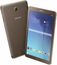 "BRAND New Samsung Galaxy Tab E SM T560 8GB Wi-Fi 9.6"" 3G BROWN Android Tablet"