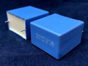 4.7uF Metallized Polypropylene Film Capacitor 275Vac 10% 31mm x 21mm x 31mm