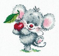 Cross Stitch Kit Ripe cherry art. 18-66