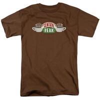 Friends Sitcom Fun TV Series Central Perk Logo Adult Graphic Men's T-Shirt Tee