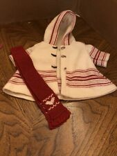 American Girl Pleasant Company Kirsten Limited Edition Skating Outfit Coat Scarf