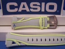 Casio Watch Band STR-200 -7B Gray/Yellow PHYS.Original Two-Piece  Strap Resin